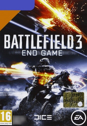 Battlefield 3: End Game Expansion (French/Dutch Packaging) (PC)
