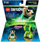 Lego Dimensions: Fun Pack - The PowerPuff Girls (Video Game Toy)