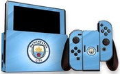Official Man City FC - Nintendo Switch (Console & Controller) Skin (Switch)