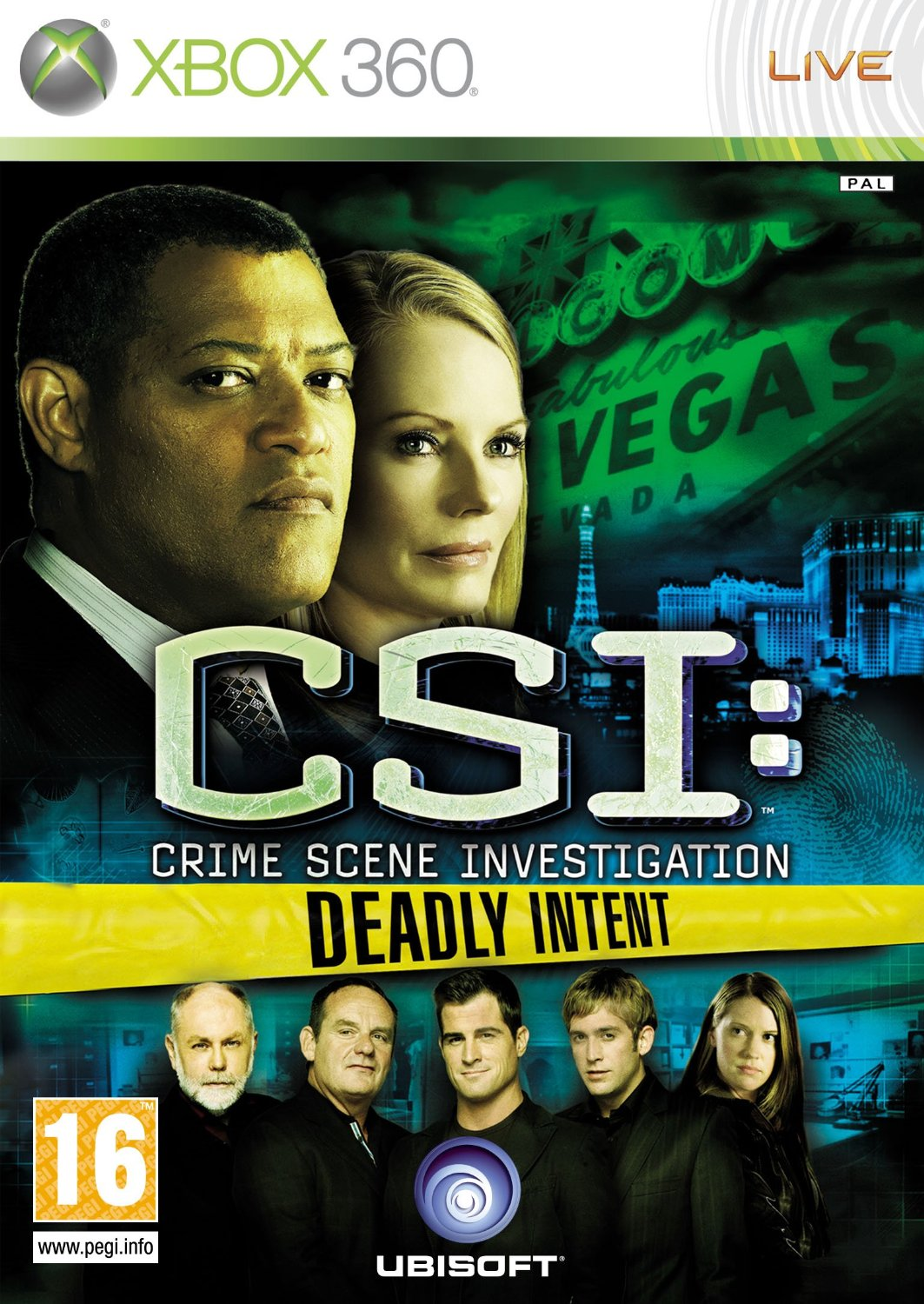 CSI - Crime Scene Investigation: Deadly Intent (XBox 360)