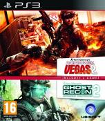 Ubisoft Double Pack - Ghost Recon: Advanced Warfighter 2 / Tom Clancy's Rainbow Six: Vegas 2 (PS3)