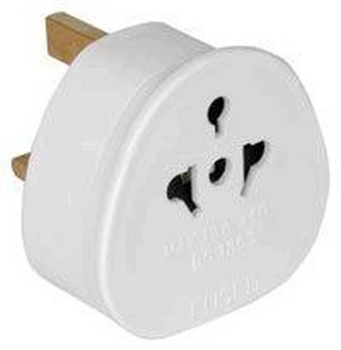 EURO to UK Plug Adaptor