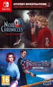 Mystery Investigations 1: Noir Chronicles: City of Crime + Path of Sin: Greed (Nintendo Switch)