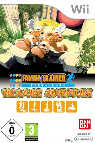 Family Trainer: Treasure Adventure Standalone Game (Wii)
