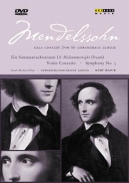 Menelssohn Gala Concert. (DVD)