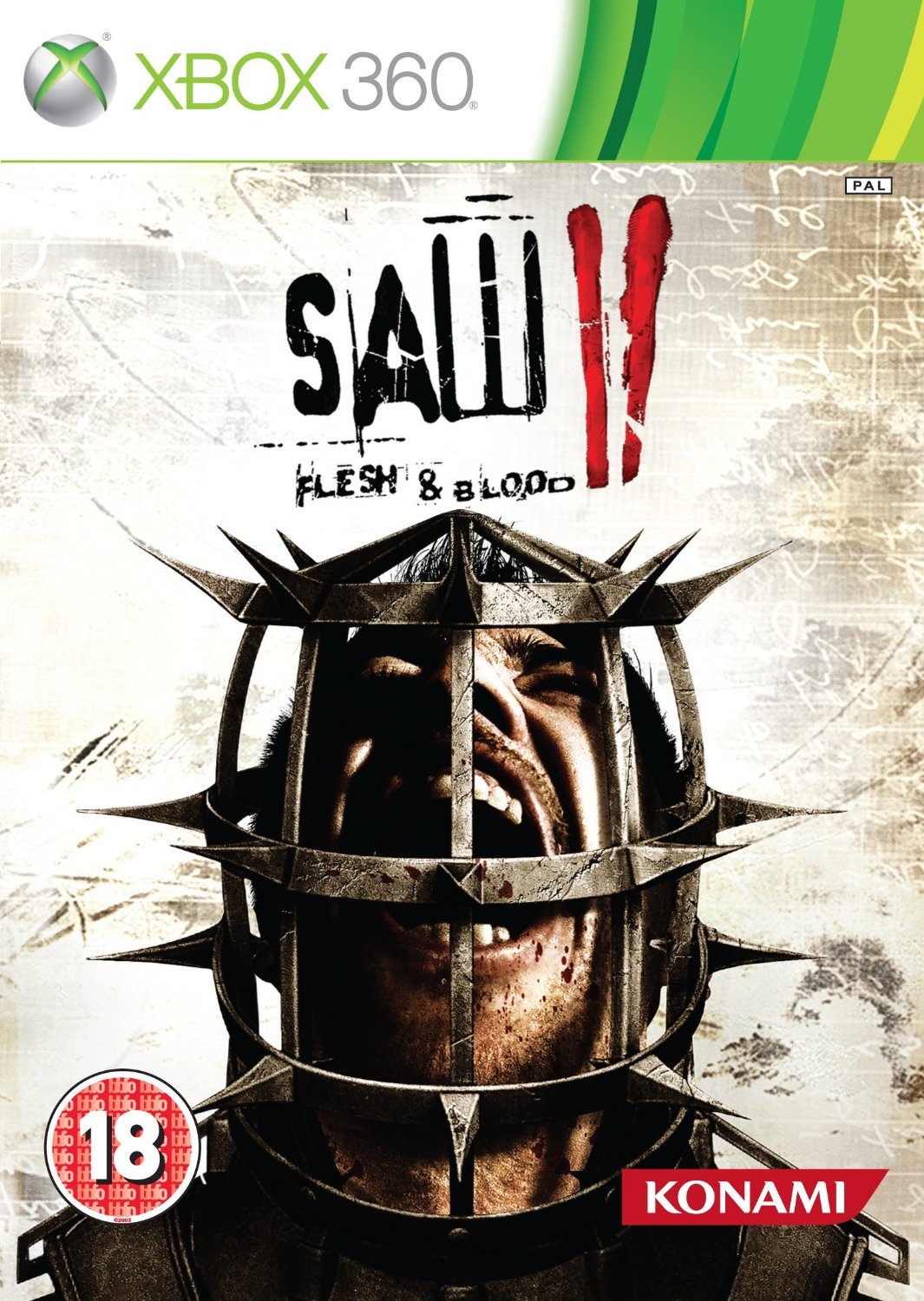 SAW II - Flesh & Blood (XBox 360)