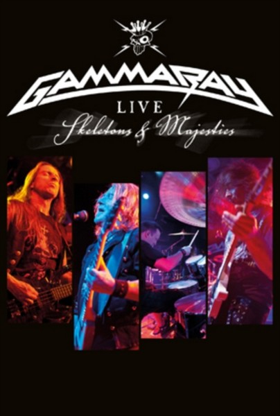 Gamma Ray - Skeletons & Majesties (Live (DVD)/+Dvd) (Music Cd) (DVD)