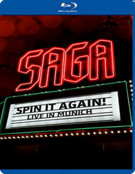 Saga: Spin It Again - Live In Munich (Blu-Ray)