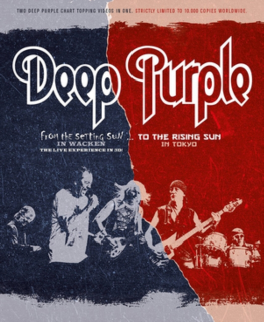 Deep Purple: From The Setting Sun In Wacken... To The Rising...  (Blu-ray