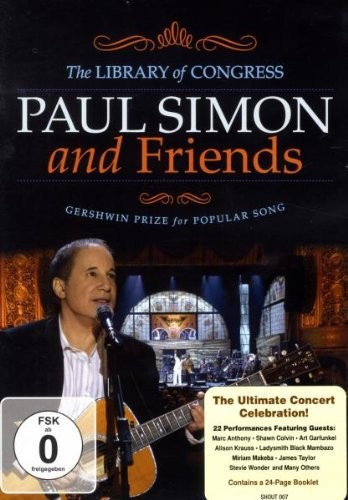Paul Simon And Friends - Library Of Congress Gershwin Prize For Popular Song (DVD)