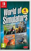 World Of Simulators - Airport Firefighters  Pro Farmer  Firefighters  Pro Construction [Code In A Box] (Nintendo Switch)