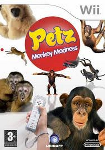 Petz Monkey Madness (Wii)