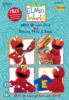 Sesame Street - Elmos World - Wake Up With Elmo / Dancing Music And Books  (DVD)
