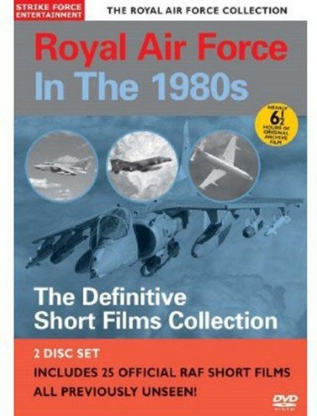 Royal Air Force In The 1980S ~ The Definitive Short Films Collection [Region 0 - Pal] (DVD)