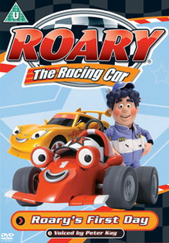 Roary The Racing Car - Roarys First Day (DVD)