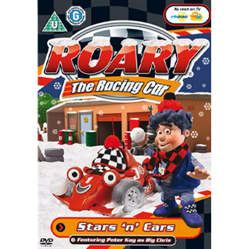 Roary The Racing Car - Stars And Cars (DVD)