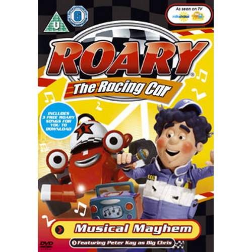 Roary The Racing Car - Musical Mayhem (DVD)