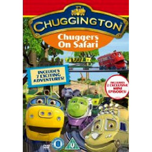 Chuggington - Chuggers On Safari (Cbeebies) (DVD)