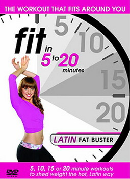 Fit In 5 To 20 Minutes - Latin Fat Buster (DVD)