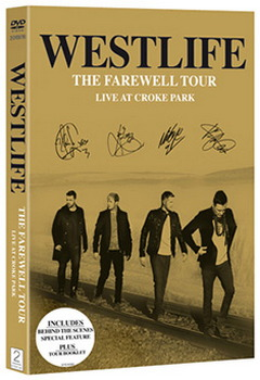 Westlife - The Farewell Tour Live At Croke Park (DVD)