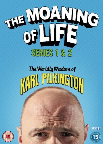 The Moaning Of Life Series 1 & 2 (DVD)