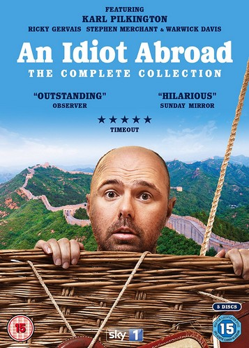 An Idiot Abroad - Complete Collection [DVD] (DVD)
