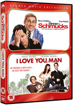 Dinner For Schmucks / I Love You  Man (DVD)