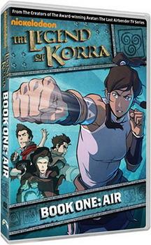 Legend Of Korra:Book One: Air (DVD)