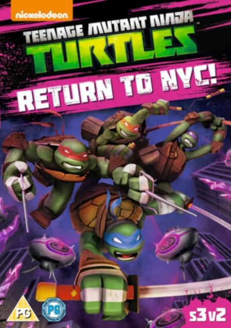 Teenage Mutant Ninja Turtles: Return To Nyc (DVD)