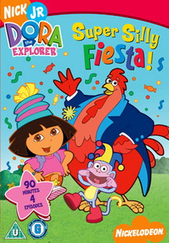 Dora The Explorer - Super Silly Fiesta (Animated) (DVD)