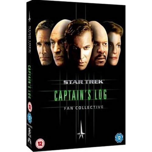 Star Trek Captains Log Fan Collective (DVD)