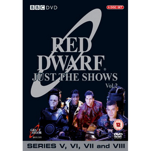 Red Dwarf - Just The Shows - Series 5 To 8 (DVD)