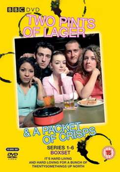 Two Pints Of Lager And A Packet Of Crisps - Complete Series 1-6 (DVD)
