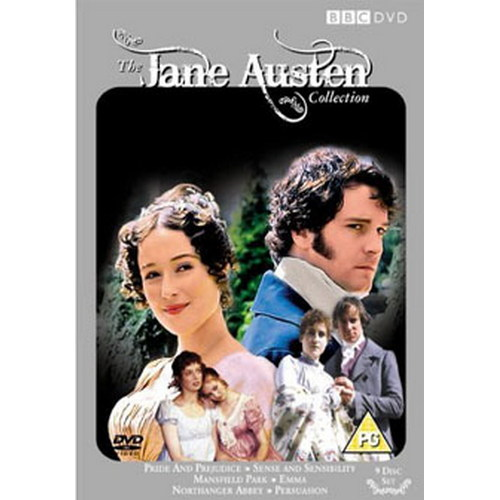 The Jane Austen Collection (1995)Pride And Prejudice/Persuasion/Northanger Abbey/Sense And Sensibility/Mansfield Park/Emma. (DVD)