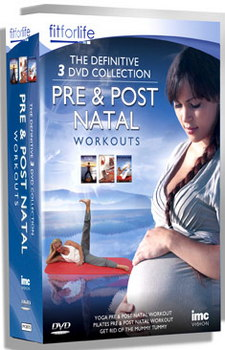 Pre & Post Natal Workout 3 Dvd Box Set - Yoga  Pilates & How To Get Rid Of The Mummy Tummy - Fit For Life Series (DVD)