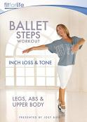 Ballet Steps Workout – Inch loss & Tone - Presented by Joey Bull (Repackaged) [DVD] [2021]