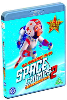 Space Chimps 2 - Zartog Strikes Back (Blu-Ray)
