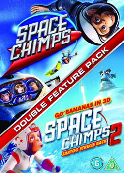 Space Chimps / Space Chimps 2 - Zartog Strikes Back (DVD)