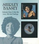 Shirley Bassey -  Nobody Does It Like Me/Love Life and Feelings (Music CD)