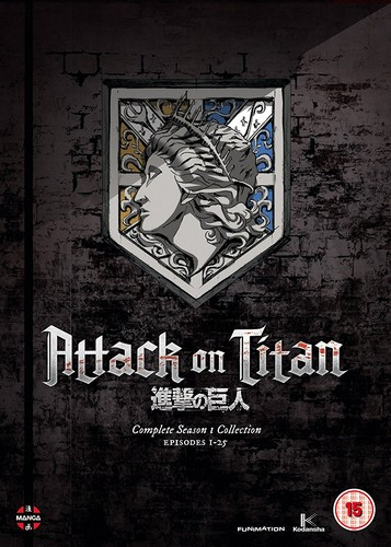 Attack On Titan: Complete Season One Collection (DVD)