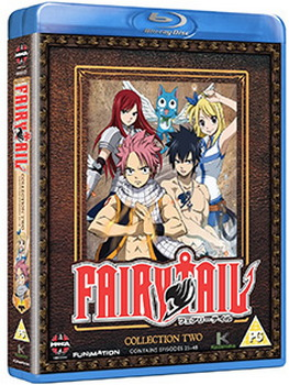 Fairy Tail Collection Two (Episodes 25-48) (Blu-ray)