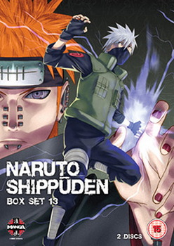 Naruto Shippuden Box 13 (Episodes 154-166) (DVD)
