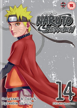 Naruto Shippuden Box 14 (Episodes 167-179) (DVD)