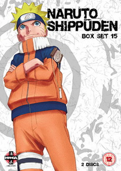 Naruto Shippuden Box 15 (Episodes 180-192) (DVD)