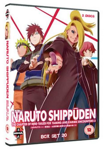 Naruto - Shippuden: Collection - Volume 20 (DVD)