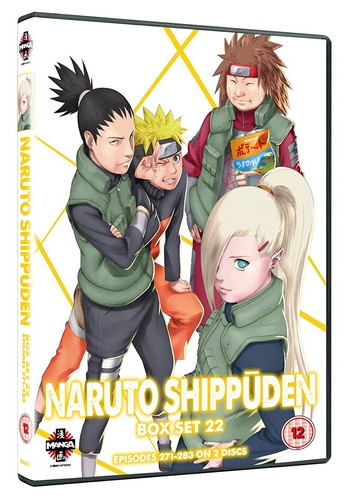 Naruto Shippuden Box Set 22 (Episodes 271-283) (DVD)
