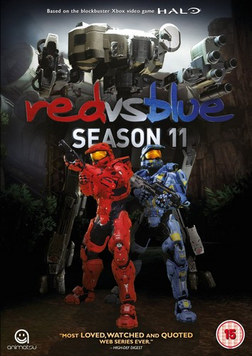 Red Vs Blue: Season 11 (DVD)