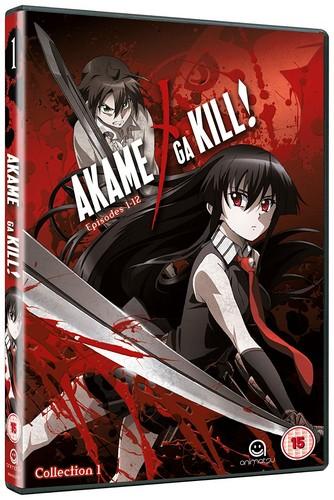 Akame Ga Kill - Collection 1 (Episodes 1-12) (DVD)
