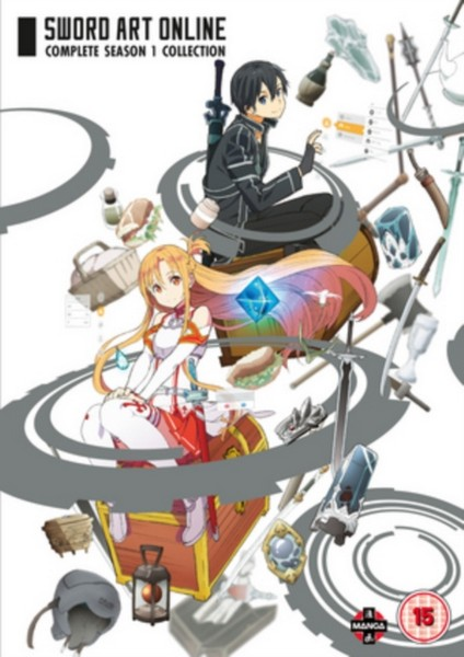 Sword Art Online Complete Season 1 Collection (Episodes 1-25) (DVD)