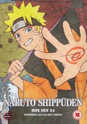 Naruto Shippuden Box 34 (Episodes 431-444) (DVD) (NTSC)